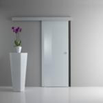 Porte in vetro decorato, Vetrotec, azienda leader nella produzione arredamento in vetro