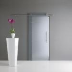 Produzione porte in vetro decorato