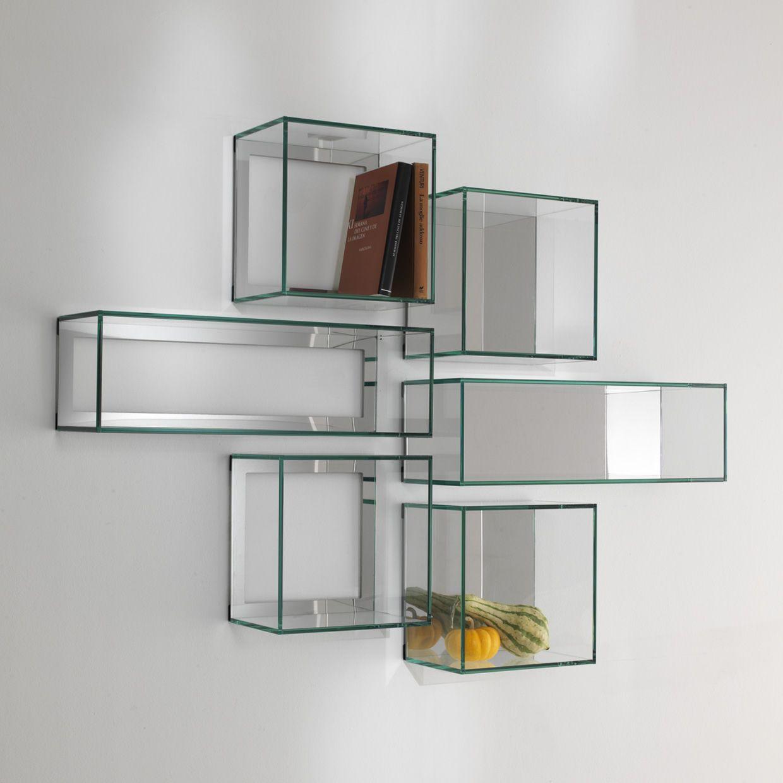 Mensole vetrotec l 39 arte della lavorazione del vetro for Produzione complementi d arredo