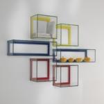 Mensole in vetro colorato, Vetrotec azienda produzione vetro