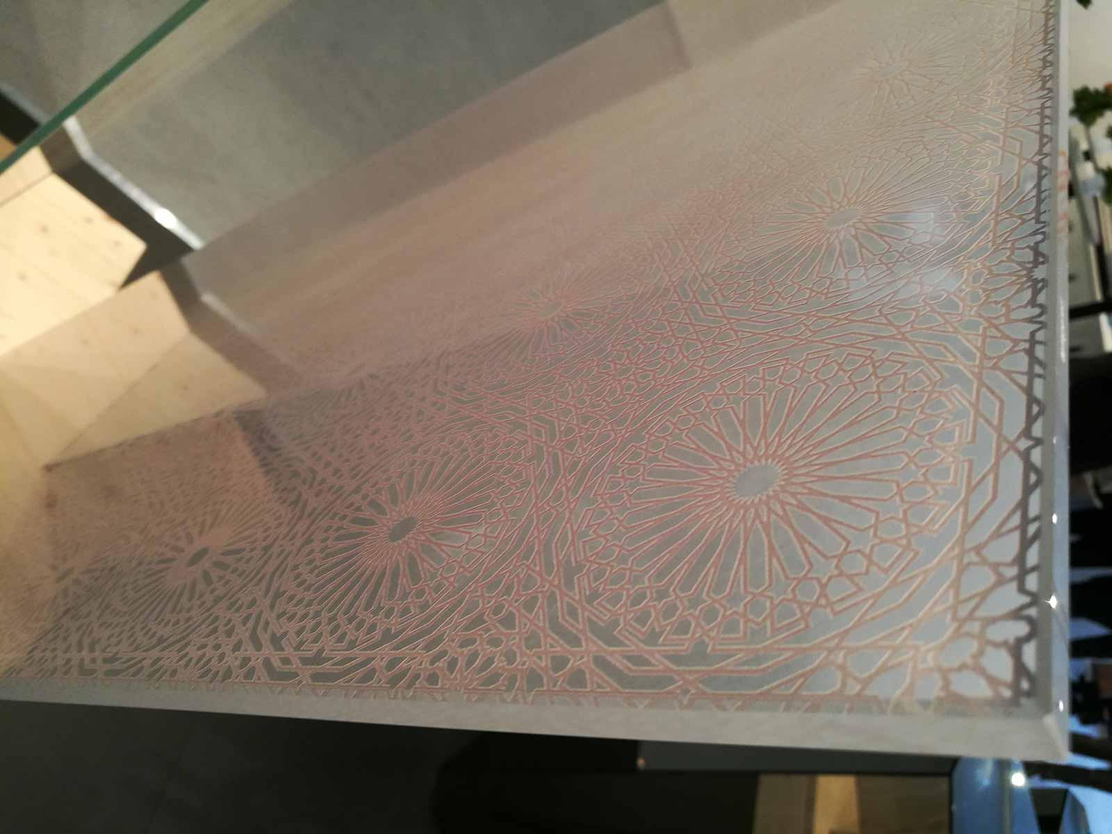 Stampa digitale su vetro
