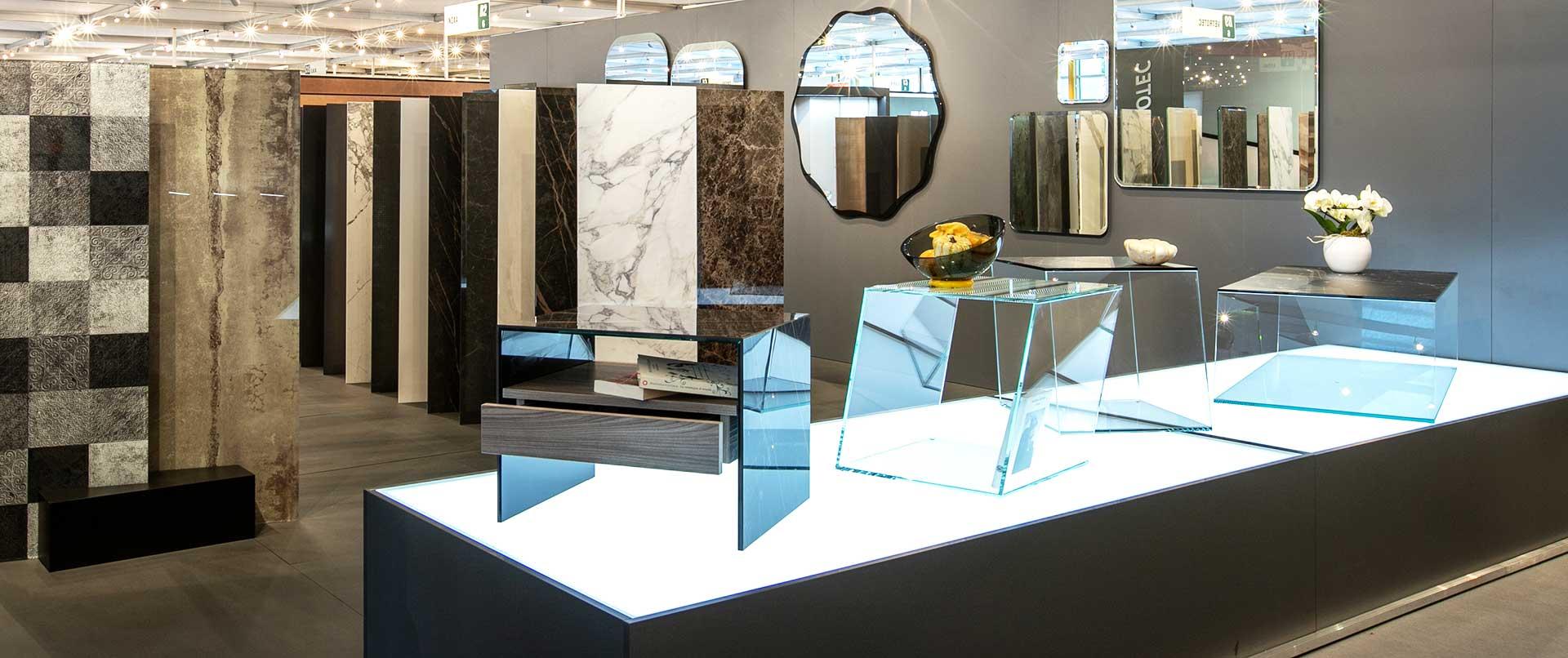 Complementi d'arredo in vetro, Vetrotec Montecchio, Pesaro